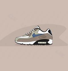 Nike air max 90 escape 2 vector
