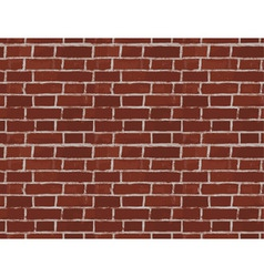 Vintage Red Brick Wall Seamless Pattern vector