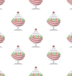 background for ice cream dessert vector image