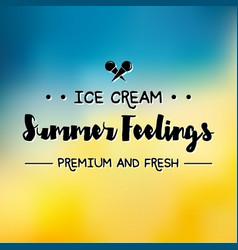 Enjoy the summer time logo template vector