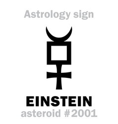 Astrology asteroid einstein vector