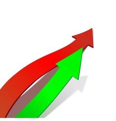 Business Graph arrow vector