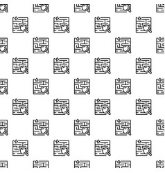 find solution pattern seamless vector image