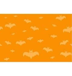 Halloween background seamless pattern vector image