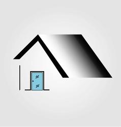 Logo for door manufacturing business vector