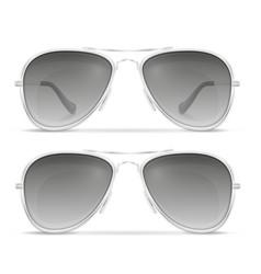 sunglasses for men in metal frames stock vector image