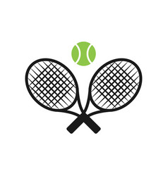 Tennis sport graphic design inspiration vector