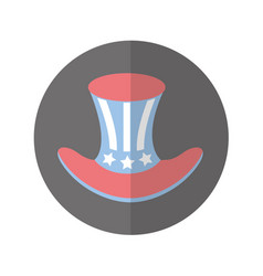 Usa hat isolated icon vector