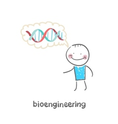 bioengineer vector image