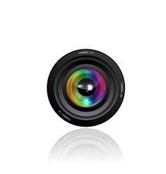 Camera Lens vector image vector image