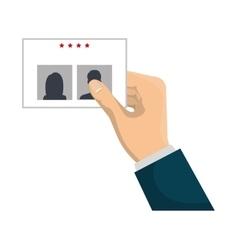 presidentials elections vote icon vector image