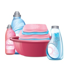 Basin For Clothes vector image vector image