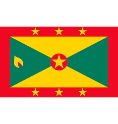 grenadian flag vector image vector image