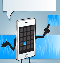iphone app vector image vector image