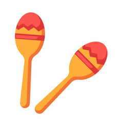 Shock-and-noise instrument of indians - maracas vector