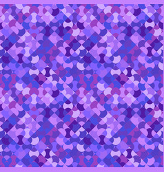 Abstract seamless curved shape pattern background vector