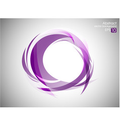 abstract swirl background design vector image