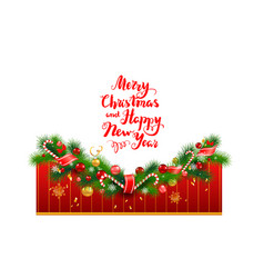 bright holiday template vector image