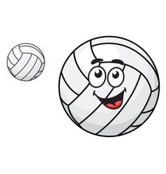 Cartoon volleyball ball vector