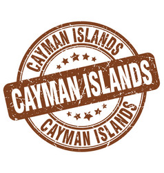 Cayman islands stamp vector