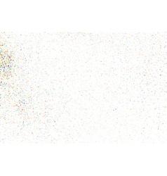 Confetti on a white vector
