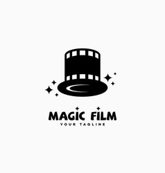 magic film logo vector image