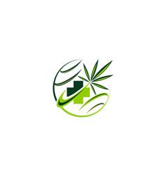 Medical herbal vector