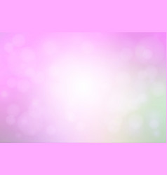 purple green pink abstract with bokeh lights vector image