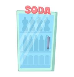 Refrigeration icon cartoon style vector