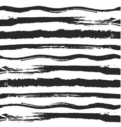 Striped hand drawn seamless background vector