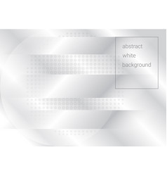 White abstract background with halftone and vector