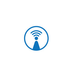 Wireless logo vector
