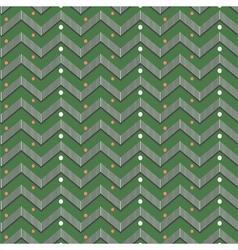 Zigzag christmas pattern vector