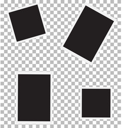 set of photo for your picture photo frame sign vector image vector image