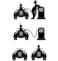 gasoline vector image vector image