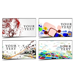 Business gift cards design royalty free vector image business gift cards design vector image colourmoves Choice Image