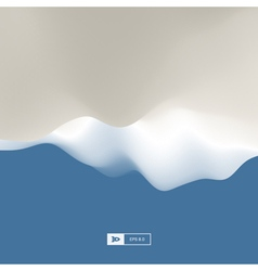 Abstract Landscape Background 3d terrain vector