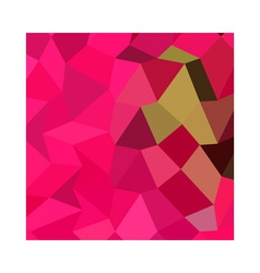 American Rose Abstract Low Polygon Background vector