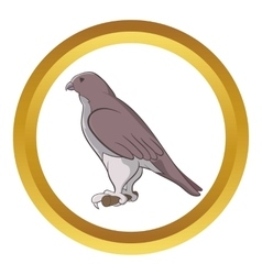 Falcon icon vector