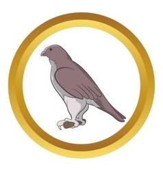 Falcon icon vector