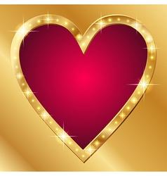 Flash banner valentine vector