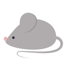 Mouse isolated vector image