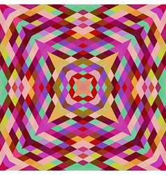 Retro backdrop of geometric shapes Colorful mosaic vector