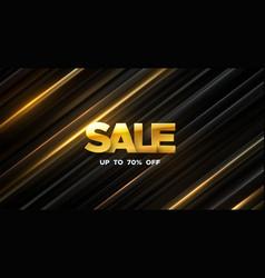 sale banner design vector image
