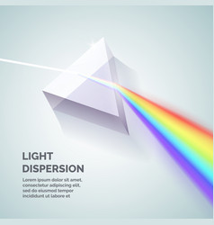 light dispersion vector image