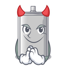 Devil bag packaging for sugar in character vector