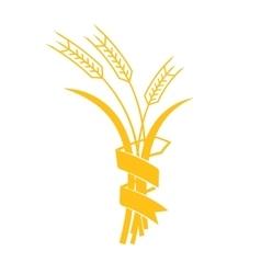 Ears of Wheat Barley or Rye visual graphic vector