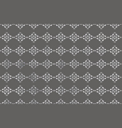 gray background with white vegetable ornament for vector image