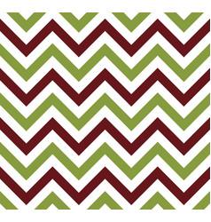 green and brown chevron retro decorative pattern vector image