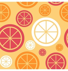 Lemon Fruit Abstract Seamless Pattern Background vector